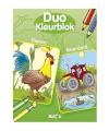 Duo kleurblok dieren/boerderij